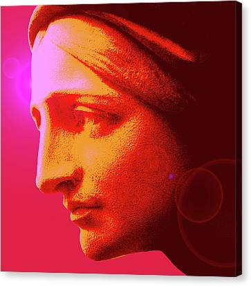 Ave-maria No. 02 Canvas Print by Ramon Labusch