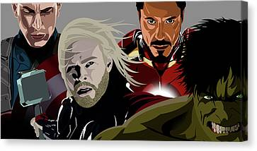 Avenge Canvas Print by Anthony Rouse