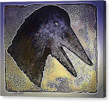 Avian Canvas Print by Steamy Raimon