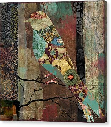 Aviary I Canvas Print by Mindy Sommers