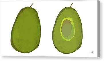 Avocados Canvas Print by Lisa Weedn