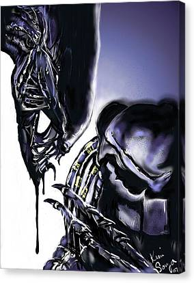 AVP Canvas Print by Kim Souza