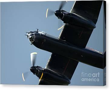 Avro Lancaster Canvas Print by Angel  Tarantella