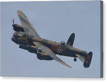 Avro Lancaster B1 Pa474  Canvas Print by Tim Beach