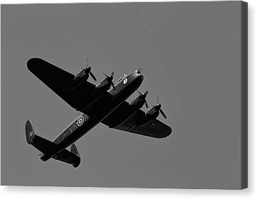 Avro Lancaster Canvas Print by CJ Park