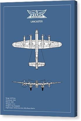 Avro Lancaster Canvas Print by Mark Rogan