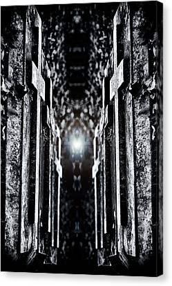 Awaits The Light Canvas Print by Scott  Wyatt
