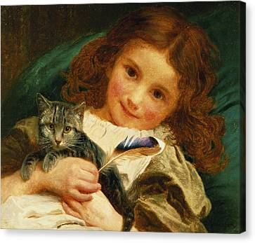 Awake Canvas Print by Sophie Anderson