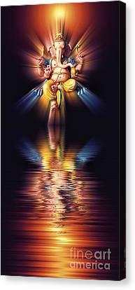 Ganapati Canvas Print - Awake by Tim Gainey