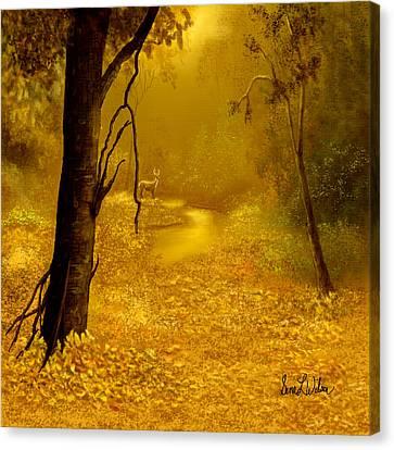 Awakening Canvas Print by Sena Wilson