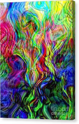 Awakening Serpent Power Canvas Print
