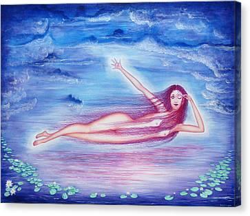 Awakening  Canvas Print by Tom Hefko