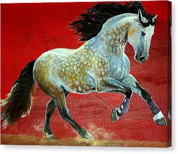 Awesome Brioso Canvas Print by Jenn Cunningham