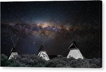 Awesome Skies Canvas Print by Carolyn Dalessandro