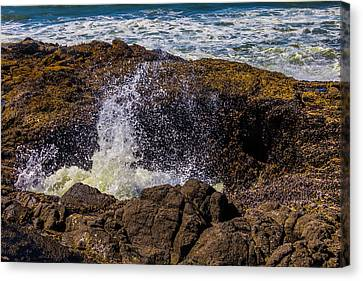 Awesome Thor's Well Canvas Print by Garry Gay