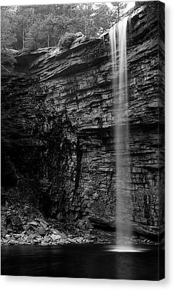 Awosting Falls In Spring #4 Canvas Print by Jeff Severson
