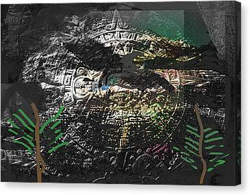 Middle East Canvas Print - Ay Tenochtitlan  by Paul Sutcliffe