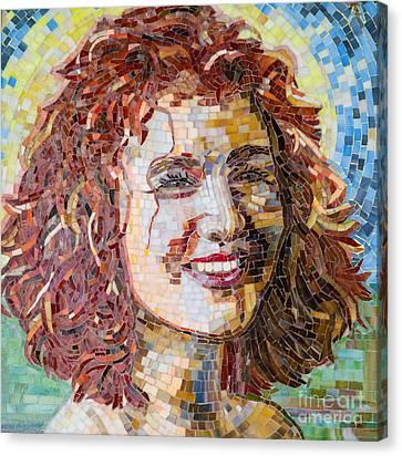 Ayala Mosaic Canvas Print