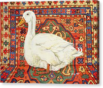 Aylesbury Carpet Drake Canvas Print by Ditz