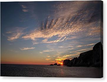 Ayrmer Cove In South Hams Canvas Print