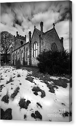 Aysgarth Church Canvas Print by Nichola Denny