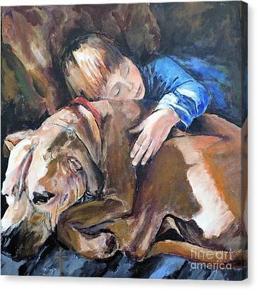 Ayvre And Jazzy  Canvas Print