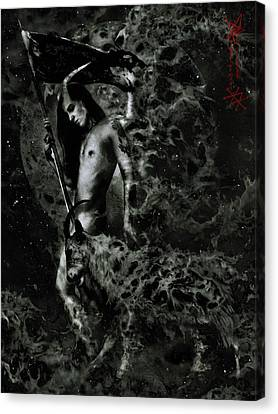 Magic Canvas Print - Azazel by Cambion Art