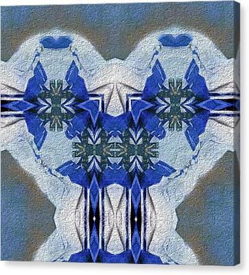 Azule Canvas Print