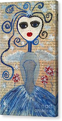 Azura Canvas Print by Julie Engelhardt