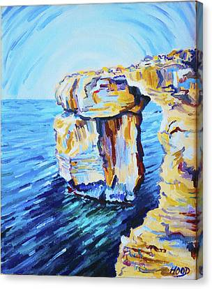 Azure Window Canvas Print