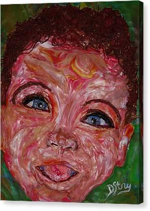 Azuriah Canvas Print