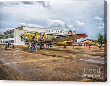 B-17g At Nas Wildwood Canvas Print
