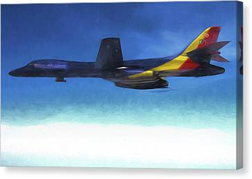 B-1b Southwest Airlines Canvas Print by JC Findley