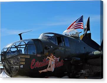 Executive Sweet, B-25  Canvas Print