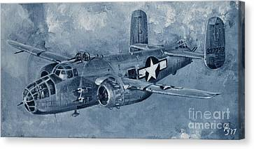 B-25 Mitchell Canvas Print