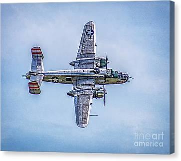 B-25 Mitchell Panchito  Canvas Print