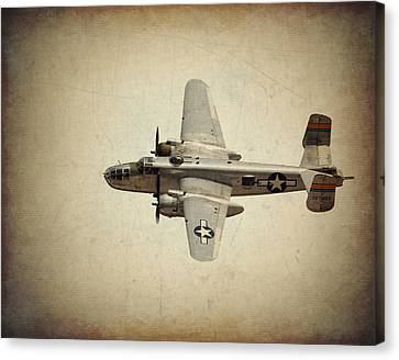 B-25j    Miss Mitchell Canvas Print by Al  Mueller