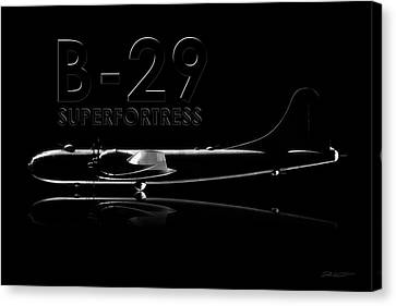 B-29 Superfortress Canvas Print by David Collins