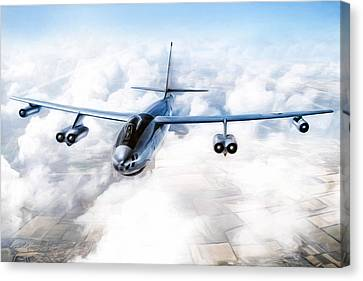 B-47 Stratojet Canvas Print by Peter Chilelli