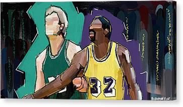 B-ball Legends #1 Canvas Print