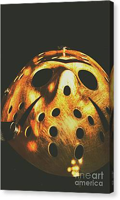 Goalie Canvas Print - B Grade Madness by Jorgo Photography - Wall Art Gallery