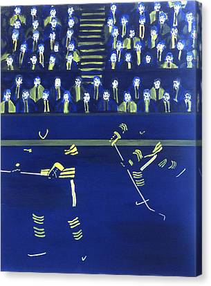 B S Canvas Print by Ken Yackel