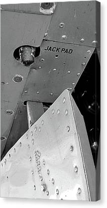 B17 Jack Pad Canvas Print by Larry Darnell