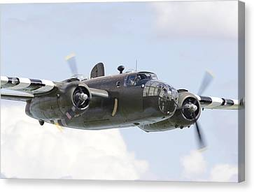 B25 - Portrait Canvas Print by Pat Speirs