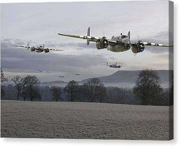 B25 Strike Package Canvas Print by Pat Speirs