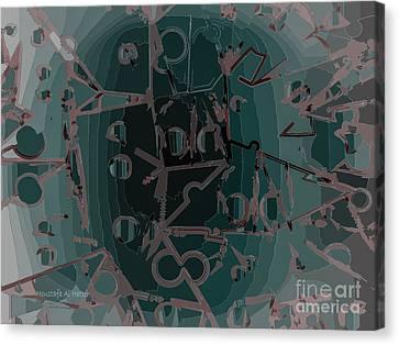 Babble Canvas Print by Moustafa Al Hatter