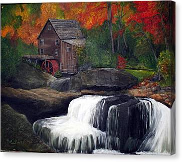 Babcock Mill Canvas Print by Timothy Smith