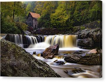 Babcock State Park Grist Mill Canvas Print