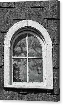 Canvas Print featuring the photograph Babcock Window 2273 by Guy Whiteley
