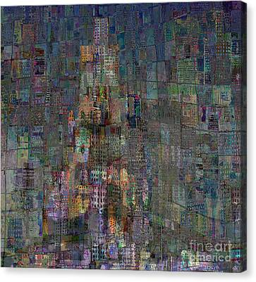 Babel Canvas Print by Andy  Mercer